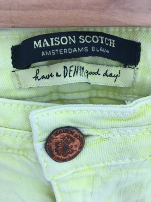 Maison Scotch Jeans W 26, L 28 gelb Sommerfarbe