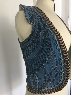 Maison Scotch Denim Vest multicolored