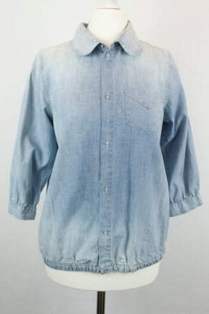 Maison Scotch Jeansbluse Bluse Hemd Gr. S Denim