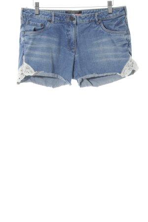 Maison Scotch Denim Shorts cornflower blue casual look