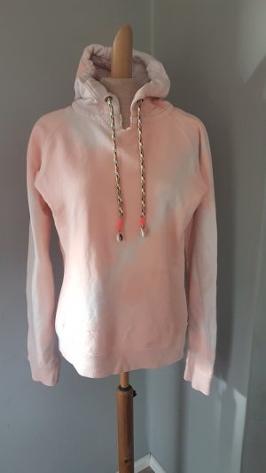 MAISON SCOTCH kapuzen hoodie sweater pastell orange abricot gr.3