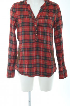 Maison Scotch Checked Blouse check pattern casual look
