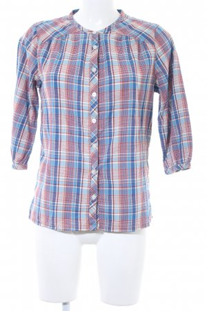 Maison Scotch Karobluse Karomuster Casual-Look