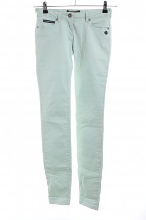 Maison Scotch Wortel jeans turkoois casual uitstraling