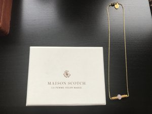 Maison Scotch Collier multicolore