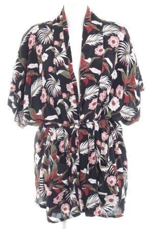 Maison Scotch Blusa tipo kimono estampado floral Estilo playero