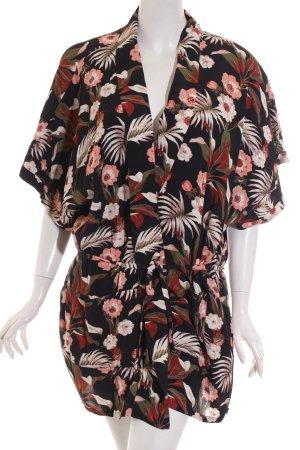 Maison Scotch Kimono blouse bloemen patroon romantische stijl