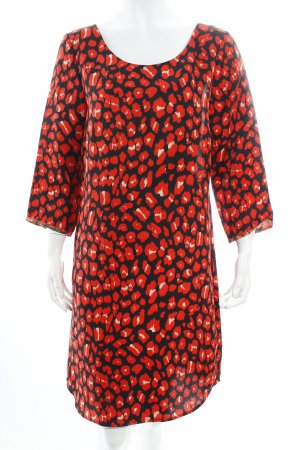 Maison Scotch Kleid abstraktes Muster Casual-Look