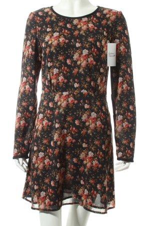 Maison Scotch Kleid florales Muster Romantik-Look