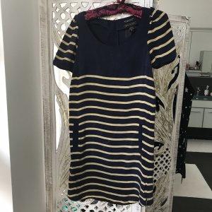 Maison Scotch Kleid in Marine- look, Grösse S