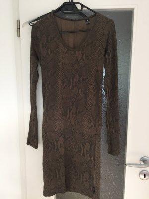 Maison Scotch Kleid mit Schlangenprint