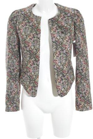Maison Scotch Kurz-Blazer Blumenmuster Elegant