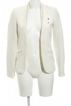 Maison Scotch Kurz-Blazer creme Business-Look