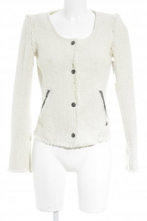 Maison Scotch Kurz-Blazer creme Casual-Look