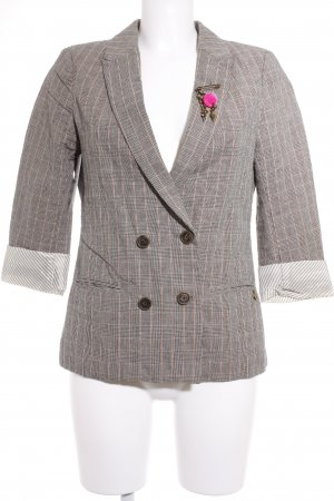 Maison Scotch Kurz-Blazer Karomuster Business-Look