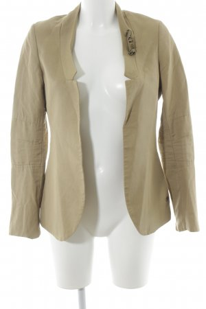 Maison Scotch Kurz-Blazer sandbraun Casual-Look