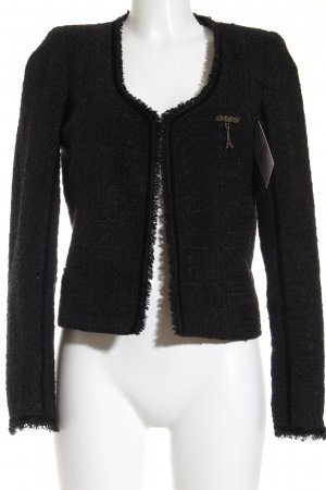 Maison Scotch Kurz-Blazer schwarz Casual-Look