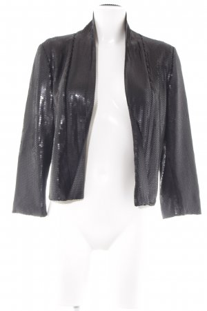 Maison Scotch Kurz-Blazer schwarz Party-Look