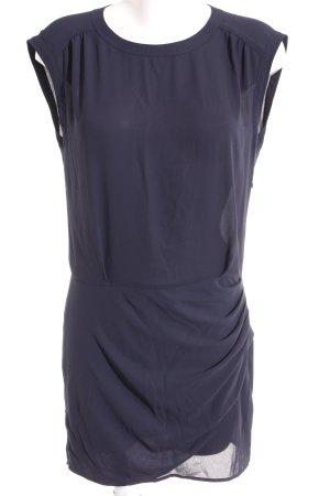 Maison Scotch Kurzarmkleid dunkelblau Elegant