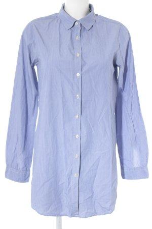 Maison Scotch Langarm-Bluse blau-weiß Streifenmuster klassischer Stil
