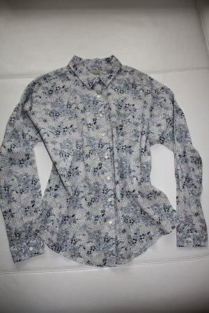 Maison Scotch langarm Bluse / Blumenmotiv / Gr. 36/38 (S/M) // NEU m. Etikett !