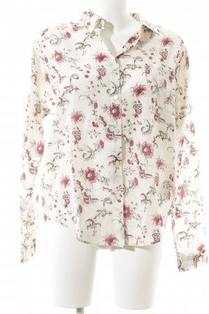 Maison Scotch Langarm-Bluse florales Muster Casual-Look