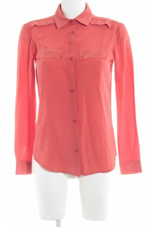 Maison Scotch Langarm-Bluse hellrot Casual-Look