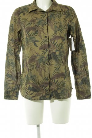 Maison Scotch Langarmhemd florales Muster Casual-Look