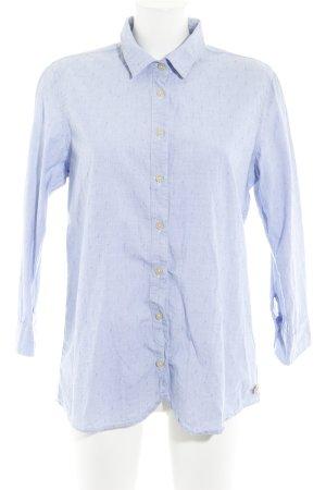 Maison Scotch Langarmhemd himmelblau Elegant
