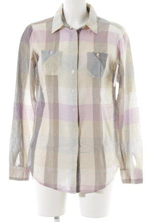 Maison Scotch Shirt met lange mouwen geruite print casual uitstraling