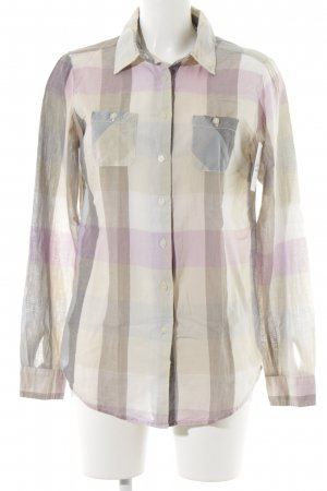 Maison Scotch Camicia a maniche lunghe motivo a quadri stile casual