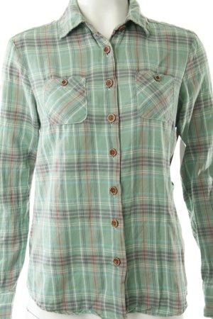 Maison Scotch Shirt met lange mouwen gestreept patroon gewassen uitstraling