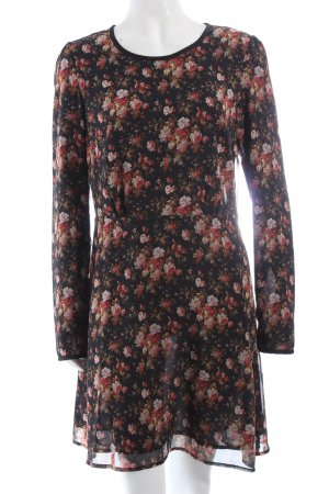 Maison Scotch Langarmkleid Blumenmuster Romantik-Look
