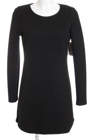 Maison Scotch Langarmkleid schwarz schlichter Stil