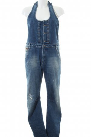 Maison Scotch Latzjeans blau Casual-Look