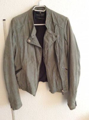 Maison Scotch Leder Jacke scotch & soda