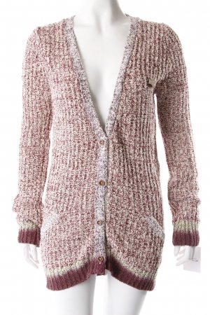 Maison Scotch Long Strickjacke