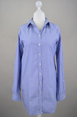 Maison Scotch Longbluse Kleid gestreift blau Größe Größe 2/Größe 38