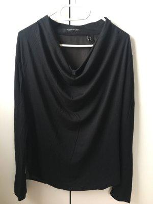 Maison Scotch Waterval shirt zwart