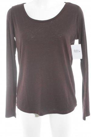 Maison Scotch Longsleeve braunrot Casual-Look