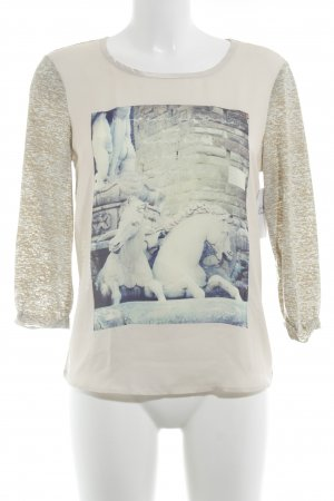 Maison Scotch Longsleeve meliert Casual-Look