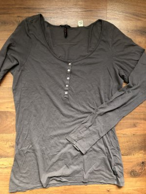 Maison Scotch Longsleeve Oberteil Anthrazit
