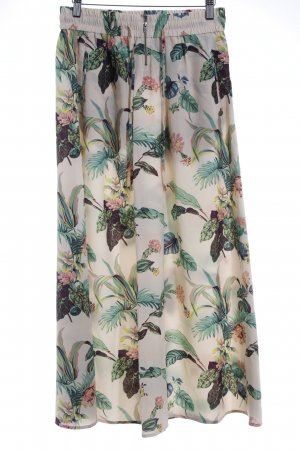 Maison Scotch Maxirock florales Muster Business-Look