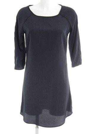 Maison Scotch Midikleid dunkelblau-schwarz Paisleymuster Elegant
