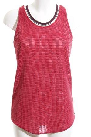 Maison Scotch Minikleid rot Streifenmuster Street-Fashion-Look
