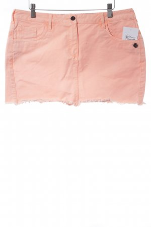 Maison Scotch Minirock neonorange Street-Fashion-Look