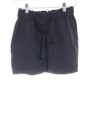 Maison Scotch Minirock schwarz schlichter Stil