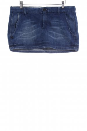 Maison Scotch Minirock stahlblau Casual-Look