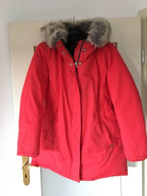 Maison Scotch Parka in tollem ROT, Größe 3