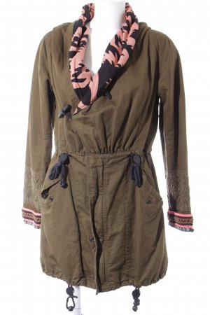 Maison Scotch Parka mehrfarbig Casual-Look